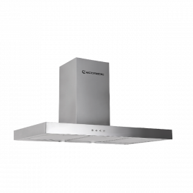 Ecomatic Hood 90 cm Stainless-T shaped SOFT TOUCH - 3 speeds x 650 m³ / h H96TLB