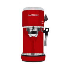 Gastroback - Espresso And Cappuccino Maker Piccolo-1400 Watt - red