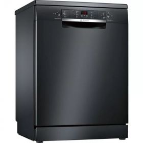 Bosch Freestanding Dishwasher, 13 Place Settings, 60 cm, Black -SMS46NB01B