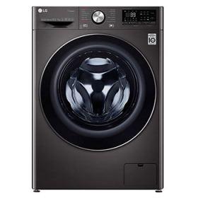 LG WASHING MACHINE 10.5 KG STEAM WITH 7 KG DRYER 1400 RPM 6 MOTION BLACK STEEL F4V9RCP2E