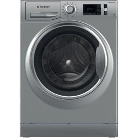ARISTON Washer Machine Front Load NLM11 946 SC A EX 9 KG 1400 Rpm Silver