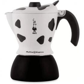 Bialetti mukka maculata aliminium 2 cups cuppucino makert B-3418EXPMR