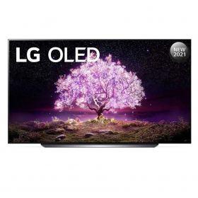 LG OLED TV 83 Inch C1 Series, Cinema Screen Design 4K Cinema HDR WebOS Smart AI ThinQ Pixel Dimming OLED83C1PVA