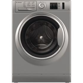 Ariston freestanding front loading washing machine: 8kg - NM10 823 SS EX