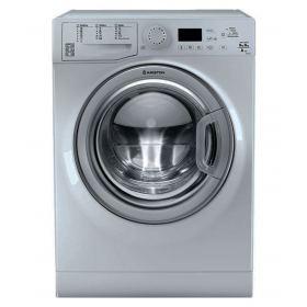 Ariston Front Loading Washing Machine With Dryer, 9 KG, Silver- FDG9640SEX