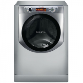 Ariston Washing Machine with steam - 11 Kg, Silver, AQ113D 697D X EX
