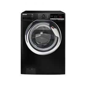 HOOVER Washing Machine Fully Automatic 8 Kg In Black Color DXOA38AC3B-ELA