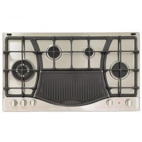 Ariston - 90cm gas hob 4 burners + grill PH 941 MSTB GH