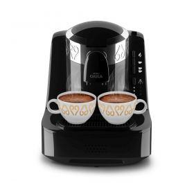 Arzum Okka Turkish Coffee Machine, 710 Watt, Black/Silver- OK001S