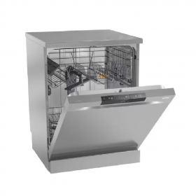 Gorenje Freestanding Dishwasher ,60cm, gray ,13 place setting ,3 baskets , button control, total dry , smartFlex ,multiclack GS63161S