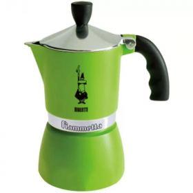 Bialetti flammetta espresso maker 3 cups green B-7133