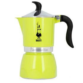 Bialetti Fiammetta lime espresso maker 3 cups