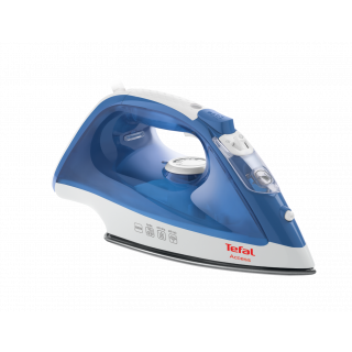 Tefal Maestro Plus Steam Iron, 2300 Watt, White/Blue - FV1840E6