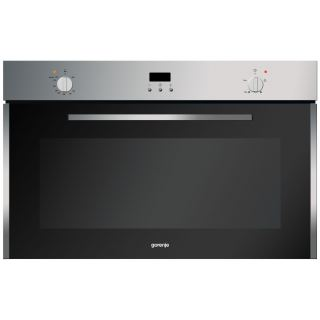 Gorenje Built In Gas oven 90 cm + gas grill and fan BOG932E10FX
