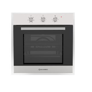 ECOMATIC BUILT-IN ELECTRIC OVEN 60 CM WITH ELECTRIC GRILL & FANS STAINLESS 67 L E6406P