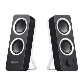 Logitech® Z200 Stereo Speakers - MIDNIGHT BLACK - 3.5 MM - EU