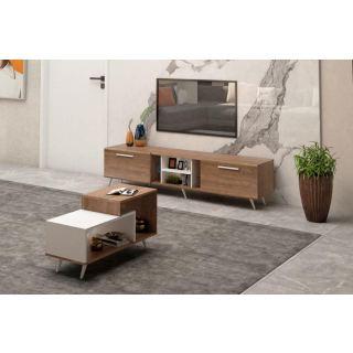 Tv unit  T0120 180 cm + coffee table 100 cm