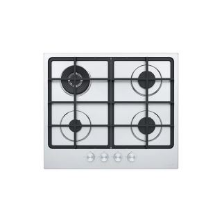 FRANKE BUILT-IN GAS HOB 4 BURNERS 60 CM CAST IRON STAINLESS FHSM 604 3G DC XS C