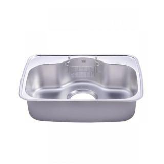Hans Cb740 Stainless Steel Sink With 1 Wire Basket - Silver + صبانة هدية