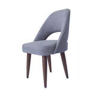 Artistico Domino Fixed Chair - Grey  1