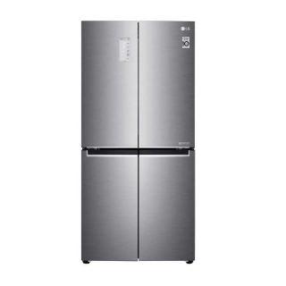 LG Refrigerator 4 Doors 19 Feet 530 Liter Inverter GC-B22FTLFL
