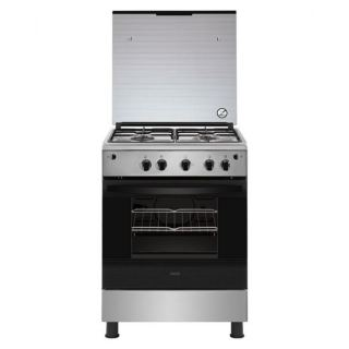 Zanussi ZCG61026XA Full Safety Free Standing Cooker With Grill - 4 Burners