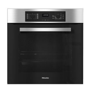 Miele Built-In Electric Oven XL, 76 Liter, Silver/Black - H 2265-1 B