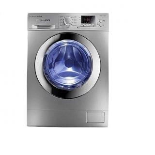 White Point Front Loading Digital Washing Machine, 10 KG, Silver - WPW 10121 DSC