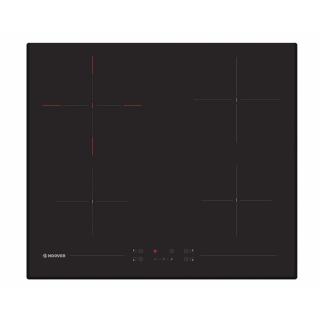 HOOVER BUILT-IN HOB 60CM 4 ELECTRIC RADIANT ZONE VITRO CERAMIC BLACK HH64DB3T-EGY