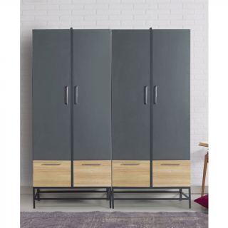 wardrobe  cata.031  gray & beige