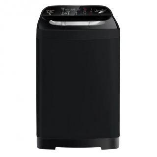 Premium Top Load Automatic Washing Machine With Dryer, 10 KG, Black- PRM100TPLC1MBK