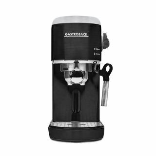 Gastroback - espresso and cappuccino maker piccolo-1400 Watt- black