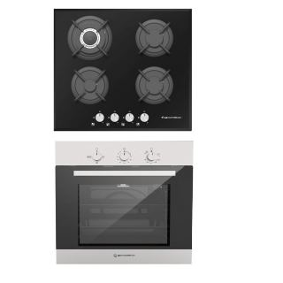 Ecomatic Built In Hob 60Cm S607RC + Gas Oven 60 Cm G6414T