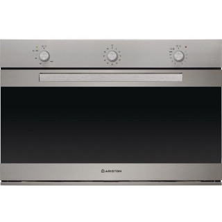 Ariston Built-In Gas Oven 90 Cm 105 Liter With electric Grill Stainless: GM5 63 IX