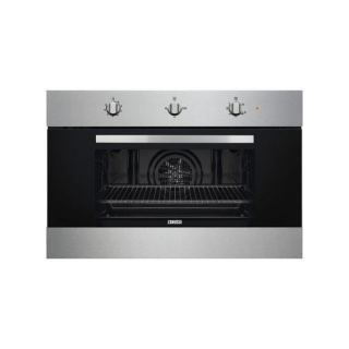 Zanussi Electric Built-In gas Oven 90*60- safty oven +gas grill - stainlessteel, ZOG9991X