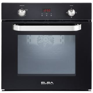 Elba - Built In Digital Gas Oven & gas grill crystal black 60cm with fan 512-7GTC