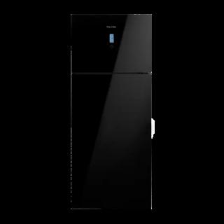 White Point No-Frost Freestanding Refrigerator, 525 Liters, Black- WPR 543 DGB