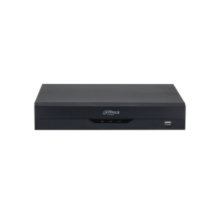 Dahua 4 Channel Penta-Brid 4K-N/5Mp Compact 1U 1Hdd Wizsense Digital Video Recorder 10.24 × 9.34 × 1.87inch Black DH-XVR5104HS-4KL-I2