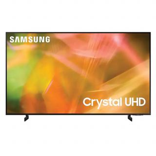 """SAMSUNG TV 75"""" LED 4K CRYSTAL ULTRA HD SMART WITH BUILT IN RECEIVER 75AU8000 New 2021 Model"""