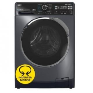 Zanussi Front Load Automatic Washing Machine TC2 , 8KG digital inverter 1200RPM dark gray ZWF8221DL7