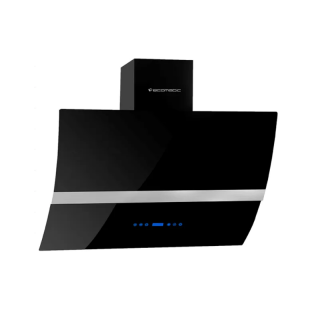 Ecomatic - TOUCH LCD HOOD 90cm Suction power 650 H96ATBLX