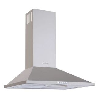 Tornado Kitchen Cooker Hood Stainless 60cm with 3 Speeds HO60PS-1
