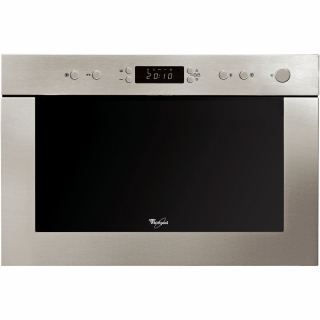 Whirlpool built in microwave oven: stainless steel - AMW 498/IX