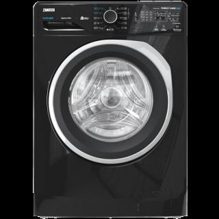 Zanussi Front Load Automatic Washing Machine, 7 KG digital 1200RPM black ZWF7240BS5