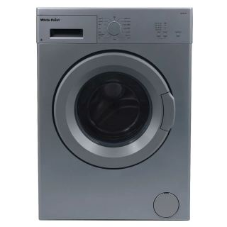 White Point Front Load Automatic Washing Machine, 5 KG, Silver- WPW 5813 DS