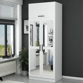 Wardrobe  kt-196 white