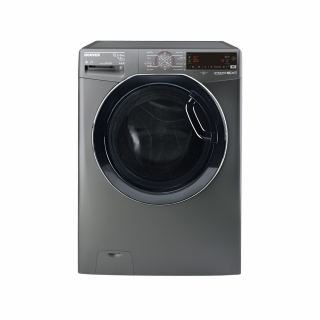 HOOVER Washing Machine Fully Automatic 13.5 Kg, 8 Kg Dryer In Silver Color WDWOT4358AHFREGY