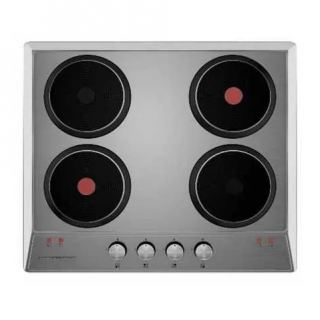 Ecomatic built in hob 60 cm 4 electric hotplates front control ES603O