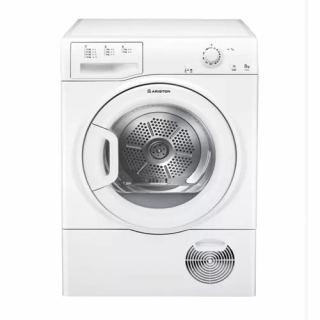 Ariston Dryer with Condenser 8 Kg Glass door White: TCM 80C 6P/Z (EX)