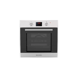 Ecomatic 60 cm electric oven + electric grill - Stainless digital TOUCH 6 functions+ Heat distribution fan E6406TD